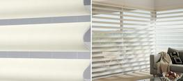 Our innovative Pirouette® shadings feature soft horizontal fabric vanes attached to a single sheer backing, allowing for enhanced views to the outside while maintaining privacy and the full beauty of the fabric appearance on the inside....