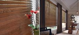Parkland® Ash Wood Blinds offer four beautiful stains meticulously paired with a beautiful wood species showcasing rich grain detail....