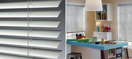 """Our 2"""" Macro blinds offer a dramatic design for larger windows with a wider view-through. The color-coordinated decorative valance with matching coil insert and complementary de-Light™ routless feature create a polished look...."""