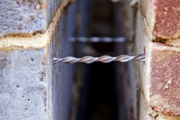 DryFix - For wall tie replacement and securing delicate masonry - Helifix