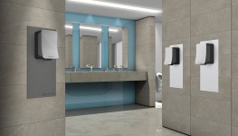 Veltia V Fusion - LOW NOISE Hand Dryer. Pulls off the impossible, Low Noise, for an effective and comfortable user experience - Veltia UK Limited