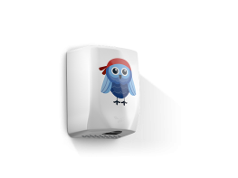 F5 Eco Owl -  Low noise hands under dryer with children in mind image
