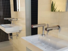 VA Air Tap.  Hand Drying made simple.  No Mess, No wall space, functional and elegant - Veltia UK