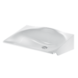 MINERALSTEEL wall-mounted washbasin image