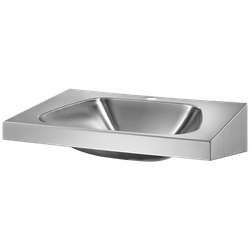 Wall-mounted TRAPEZ washbasin image