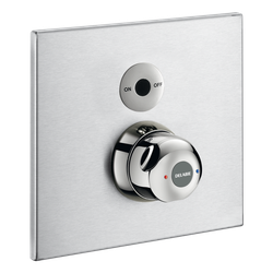 SECURITHERM shower mixer, recessed electronic in waterproof housing (ref. 792BOX+792452) image