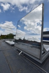 Em-Glaze modular rooflights are aesthetically pleasing, prefabricated rooflights for flat roofs. Available in a wide range of sizes, Em-Glaze flat rooflights have a minimal design and can be made to measure. The rooflights are manufactured with flat sealed gla...