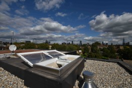 Em-Vents are CE marked and fully certified to BS EN12101-2 and to Building Regulations ADB and ADL.  These electrically operated smoke vent rooflights designed to reduce smoke and heat buildup in buildings in the event of fire.