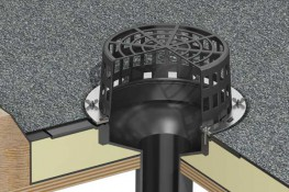The Whitesales Drainage outlets are manufactured in EPDM, PVC or PP and come in a wide range of outlets to suit all roof applications. T-Pipe flat flange outlets are versatile. flat roof drainage outlets. T-Pipe sump flange outlets are available in two sizes a...