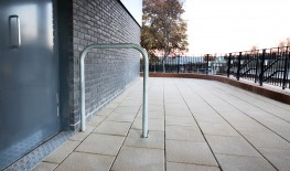 The Malford Door Barrier MDB201 is a simple steel hoop economy door barrier and is all that is needed for basic door and pupil protection from external opening doorways. This door barrier is made from 48mm steel tube section and comes as standard with a galvan...