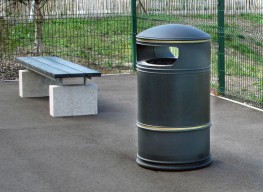 Pewsham Litter Container PLC407 - Langley Design