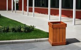 Sheldon Litter Container SLC304 - Langley Design