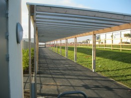 Sheldon Covered Walkway SPG322 - Langley Design