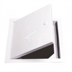 Premier Lightweight, Robust White Steel Panel. Tamper-proof lock option (postfi x TP). Bespoke sizes available. Suitable for Walls and Ceilings. Picture Frame (PFS) or Beaded Frame (BFS) options.