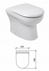 A white vitreous china WC supplied with seat and seat cover the WC is available with a choice of 4 and 6 litre cisterns.; Bushboard pre-plumbed units come complete with panels sanitary ware brass-ware and plumbing all assembled onto a rigid aluminium frame rea...