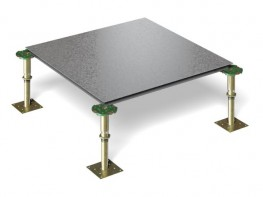 Woodcore Steel Encapsulated Lock-Down Access Floors image