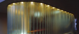 PilkingtonProfilit™is a U-shaped profiled glass. It is annealed glass, fitted with longitudinal wire reinforcement. This highly durable product allows light to enter buildings whilst presenting a translucent external appearance. A wide range of fitting o...