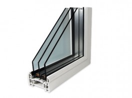 Triple glazing is, as the name would suggest, 3 panes of glass formed into one single triple glazed unit.