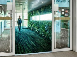 Coral Welcome textile entrance system image