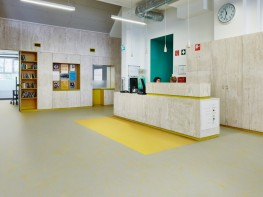 Marmoleum solid concrete sheet linoleum by forbo flooring systems