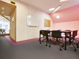 Marmoleum Solid Concrete sheet linoleum - Forbo Flooring Systems
