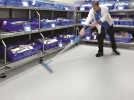 Surestep Stone Health and Safety Executive compliant safety flooring - Forbo Flooring Systems