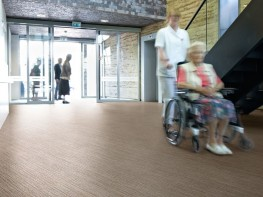 Surestep Wood Health and Safety Executive compliant safety flooring - Forbo Flooring Systems