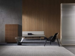 Tessera Alignment tufted multi height cut and loop pile carpet tile - Forbo Flooring Systems