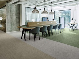 Tessera Arran tufted multi-height loop pile carpet tile - Forbo Flooring Systems