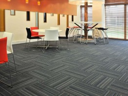 Tessera Barcode tufted low level loop pile carpet tile - Forbo Flooring Systems