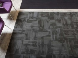 Tessera Contour tufted multi-height cut and loop pile carpet tile - Forbo Flooring Systems