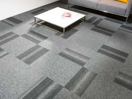 Tessera Create Space 1 tufted low level loop pile carpet tile image