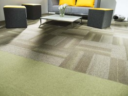 Tessera Create Space 1 tufted low level loop pile carpet tile - Forbo Flooring Systems