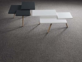 Tessera Helix tufted multi-height loop pile carpet tile image