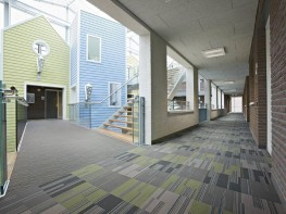 The variety of installation methods available for Stratus opens up a huge number of flooring design options and when and, when used alongside colours from the contemporary Cirrus design the creative options become almost infinite.