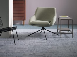 Tessera In-line tufted multi-height loop pile carpet tile image