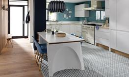Remo Matt White Kitchen image