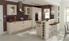 Porter Beige Kitchen - Elite Trade and Contract Kitchens Ltd