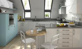 Remo Painted Kitchen - Elite Trade and Contract Kitchens Ltd