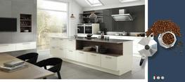 Vivo Porcelain High Gloss Kitchen - Elite Trade and Contract Kitchens Ltd