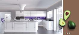 Lusso White High Gloss Kitchen image