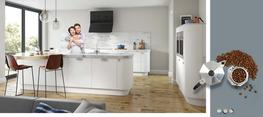 Lastra  White Super Matt Kitchen image