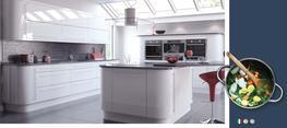 Vivo Gloss White High Gloss Kitchen image