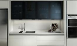 Feature Black Glazed Kitchen image