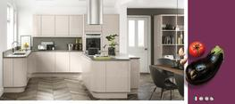 Lucente Cashmere High Gloss Kitchen image