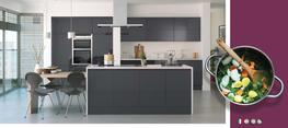 Lucente Anthracite High Gloss Kitchen image