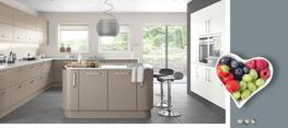 Lastra Stone Grey Super Matt Kitchen image