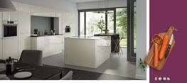 Lucente Porcelain High Gloss Kitchen image