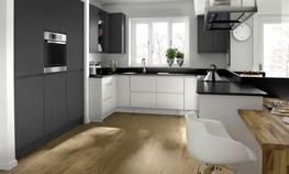 Remo Beige Kitchen - Elite Trade and Contract Kitchens Ltd
