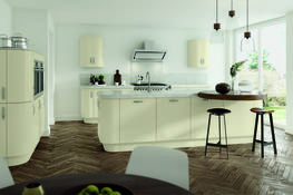 Vivo Matt Ivory Kitchen image